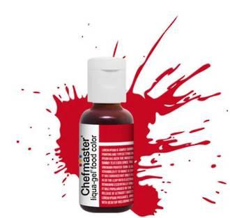 Chefmaster Liqua Gel Red Red .70oz Bottle - SOLD OUT