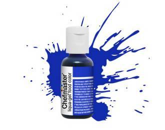 Chefmaster Liqua Gel Royal Blue .70oz Bottle