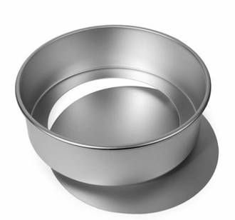 "8"" (200 x 60mm Deep) Aluminium Loose Base Cake Pan"