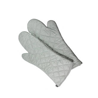 Silicon Mitts (pair) 430mm long  Ideal for the deli, resistant to fat penetration