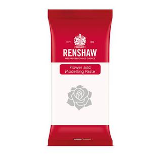 Renshaw Flower & Modelling Paste White, 250g (Box of 8) - SOLD OUT