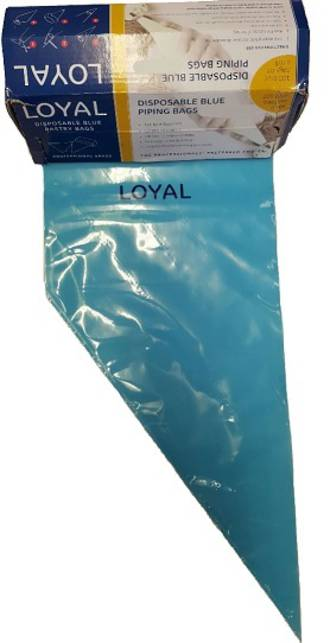 "18"" (460mm) Disposable Non Slip Blue Bags (100)"
