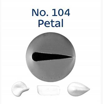 Stainless Steel Rose Petal Tube No104 (12.5mm)