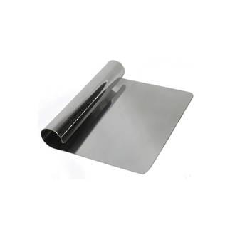 Bench Scraper S/Steel (rolled handle med weight) 150x110mm
