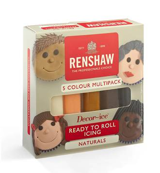 Renshaw Multi Pack (5 x 100g - Natural Colours) - DATED STOCK ONLY