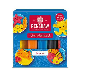 Renshaw Multi Pack (5 x 100g - Neon Colours)