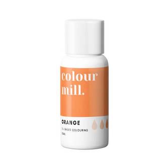 Colour Mill- Oil Based Colouring Orange (20ml)