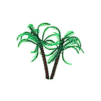 Palm Tree-Plastic- 10cm - SOLD OUT