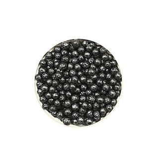 Sugar Pearls 4-5mm -Black  (150g Jar)