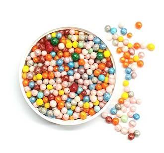 Sugar Pearls 3mm-Rainbow (1kg bag)