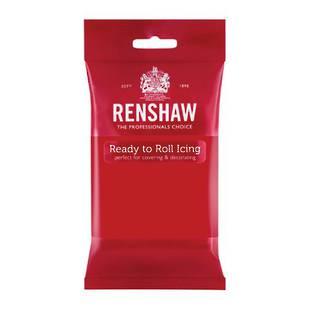Renshaw Poppy Red Icing 250g