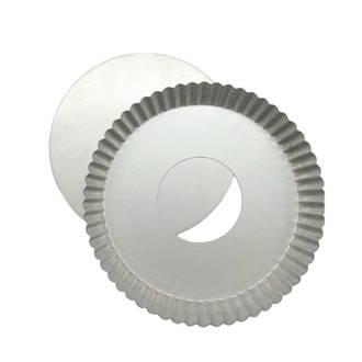 Single Quiche Pan,  210x40mm, Loose base