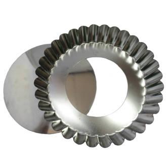 Quiche Tin 270x50mm, Tin Plate, Loose Base