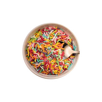 Sprinkles Rainbow (1kg bag)
