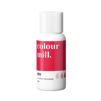 Colour Mill- Oil Based Colouring Red (20ml)