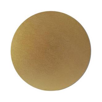 "Round 8"" MDF Board, Gold"
