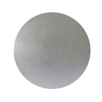 """Round 6"""" MDF Board, Silver"""