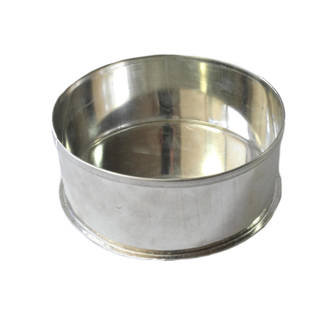 "Round Cake Tin 17.5 cm or 7"" (Top Quality)"