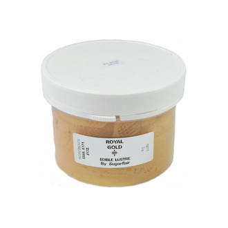 Sugarflair Edible Lustre Royal Gold powder 100g - SOLD OUT