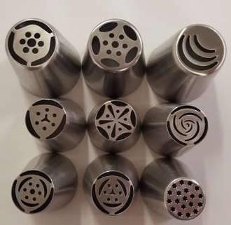 Russian Nozzles S/S 8 Piece Set