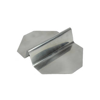 Stainless steel sandwich cutting guide