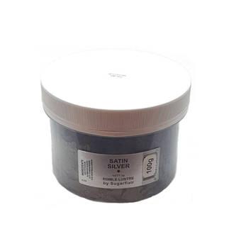 Sugarflair Edible Lustre Colour Satin Silver 100g