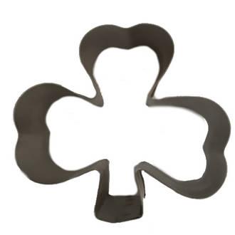 Shamrock Cookie Cutter 3 leaf 60mm