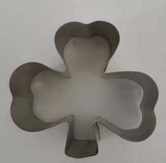 Shamrock Cookie Cutter 3 leaf 20mm