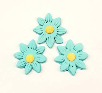Icing Blue Daisy,35mm Box of 120 - SOLD OUT