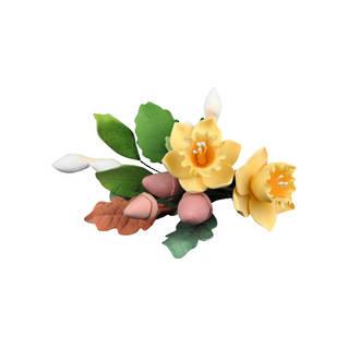 Icing Daffodil Spray Yellow (Box of 3)