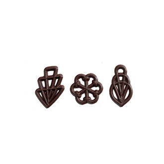 Chocolate Decorations -Filigran- 45mm  (300) - SOLD OUT