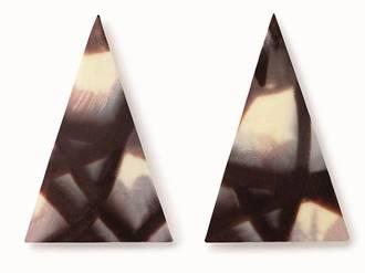 Chocolate Jura Point, 55mmx35mm (490PC)