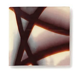 Choc Decoration - Jura Dark Square  40mm (610pc)