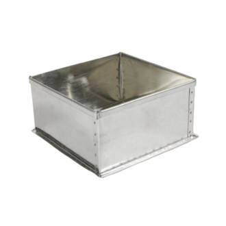 "Square Cake Tin 17.5 cm or 7"" (Top Quality)"