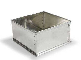 "Square Cake Tin 22.5cm or 9"" (Top Quality)"