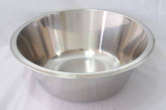 Bowl Stainless Steel, 5 litre - 300x110mm
