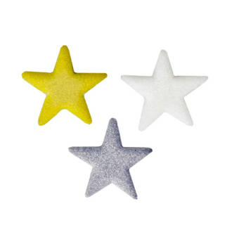Shimmer Stars Assortment Decons - 22mm (216) - DELETED WHEN SOLD