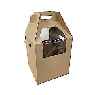 Heavy Duty Tall Cake Carry Box + Handle, 12x12x14(H)