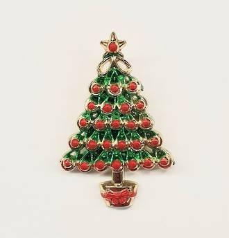 Metallised Christmas Tree 63mm