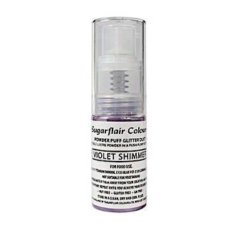 Sugarflair Edible Violet Shimmer Lustre (Pump) 10gm