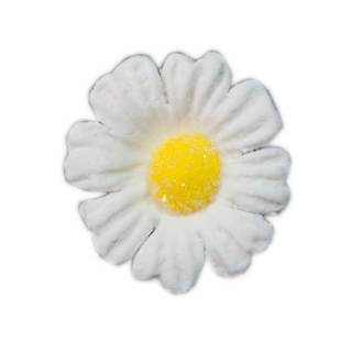 Daisy White Icing Flower 40mm (32)