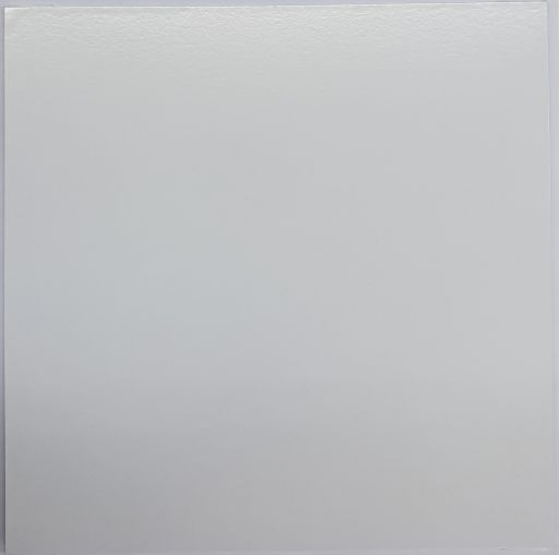 "Square 8"" MDF Board, White"