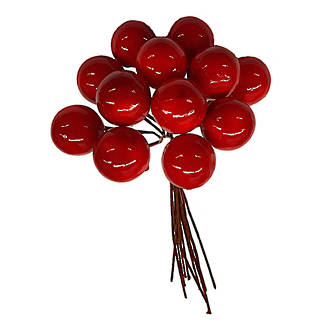 Berry Bunch Red 22mm - 90mm