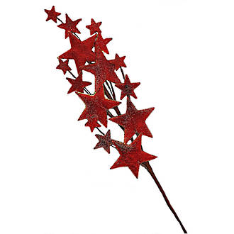 Sugar Star Tree Red 460mm