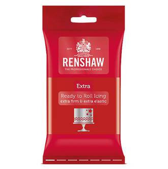 Renshaw Extra- Red Icing 250g