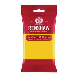 Renshaw Yellow Icing 250g - SOLD OUT