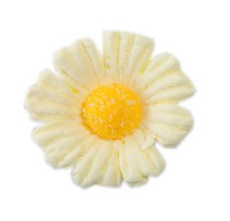 Daisy Yellow Icing Flower 40mm (32)
