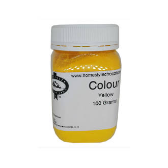 Chocolate Colouring  Yellow 100gm