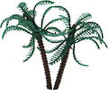 Palm Tree-Plastic- 10cm