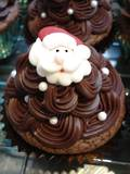 Christmas Santa Faces (2D Icing, 25mm - Box of 60)